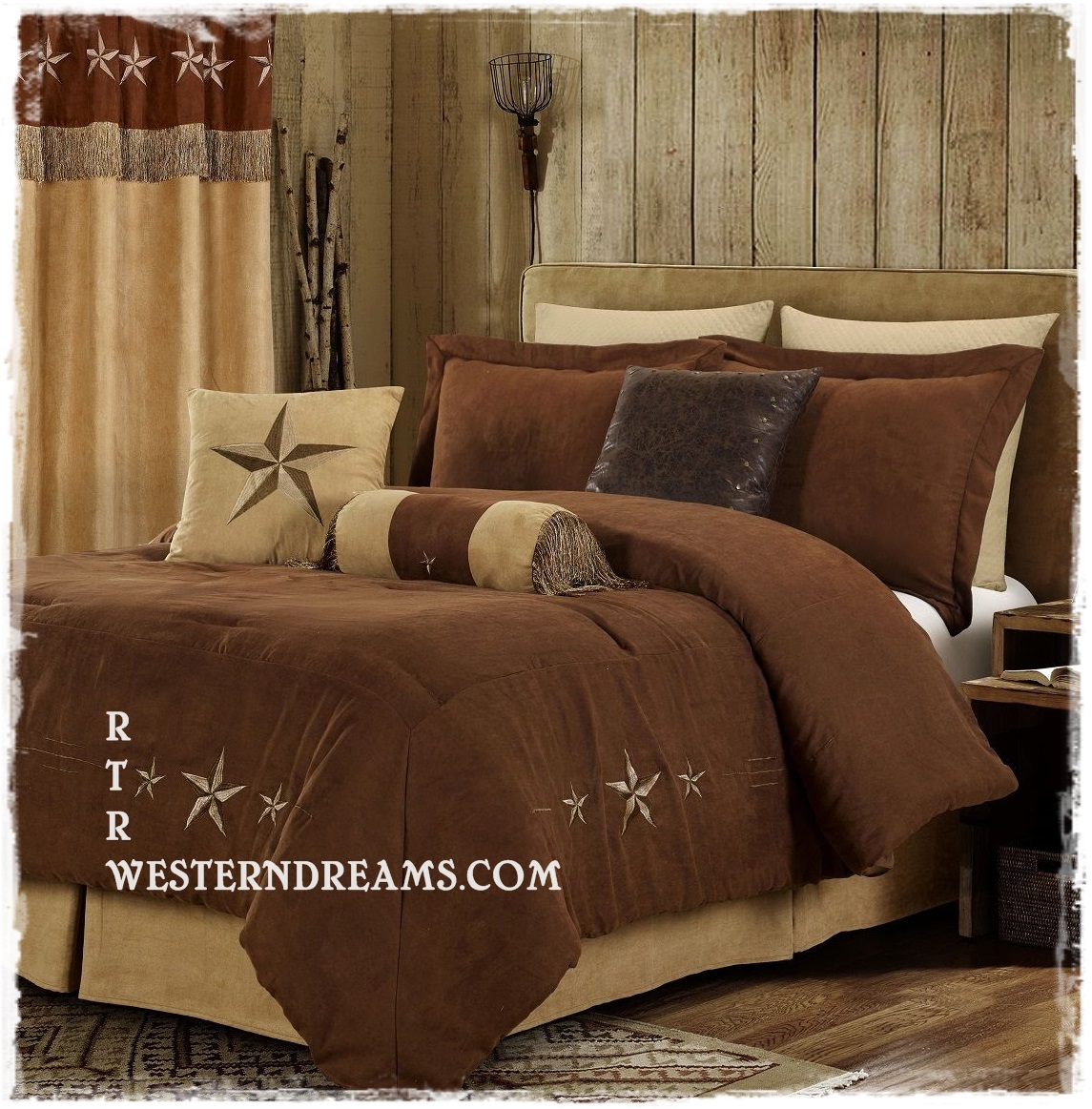 c for berkshire com sets brown sherpa home qvc velvet the reverse full n to soft ensembles bedding set bed comforter